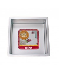 Daily Bake - Professional Series - Square Cake Tin 17.5cm / 7""