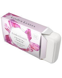 Linden Leaves - Cleansing Bar - Crystal Crush - Rose Quartz