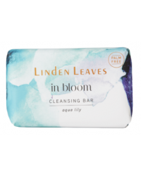 Linden Leaves - Cleansing Bar - In Bloom - Aqua Lily