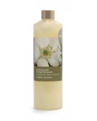 Linden leaves Bubble Bath - Ginseng and Orange Blossom 500ml