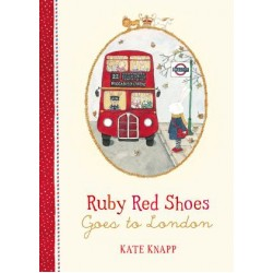 Ruby Red Shoes - Book - Goes to London