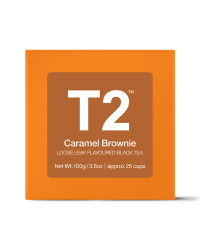 T2 loose leaf - CARAMEL BROWNIE