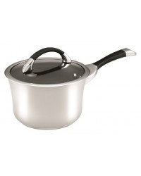 Circulon Symmetry Stainless Steel Saucepan 20cm / 3.3L