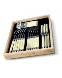 Andre Verdier Laguiole - 24 Piece Cutlery Set - Ivory