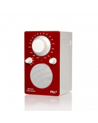 Tivoli Ipal Bluetooth Portable Radio - Red / White