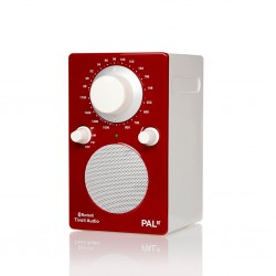 Tivoli Audio - PAL Portable AM/FM Bluetooth Radio - Red / White